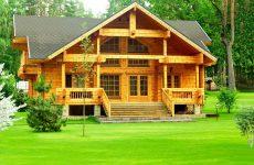 Строительство деревянных коттеджей и домов