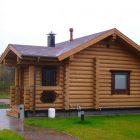 Особенности сооружения домов из оцилиндрованного бревна
