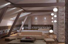 Преображение гостиной с помощью светильников