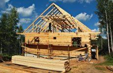 Брус для строительства дачного дома