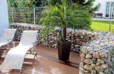 Габион – оригинальный декор для вашего сада