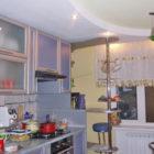 Отделка потолка на кухне гипсокартоном