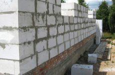 Строительство из ячеистых блоков