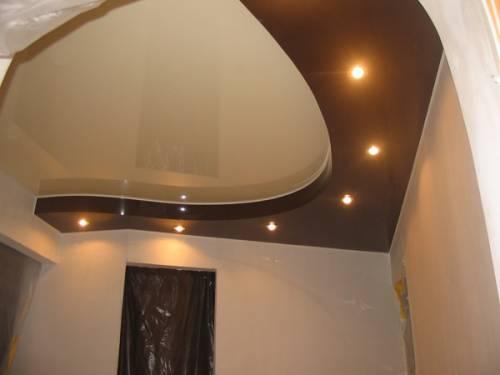 Лучшее решение для потолка в прихожей