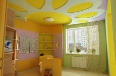 Все о цвете, потолке, мебели в детской комнате