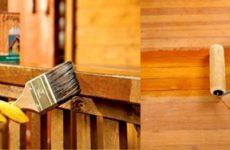 Огнезащита деревянных строений