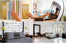 Обновить интерьер квартиры можно своими руками