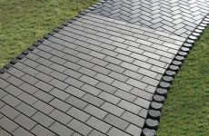 Тротуарня плитка: особенности и преимущества