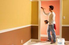 Качественная покраска стен