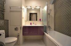 Комплексный ремонт ванной комнаты и туалета