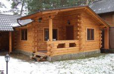 Строительство деревянной бани под ключ
