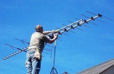 Устанавливаем антенну на даче