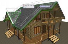 Особенности проектирования домов из бруса