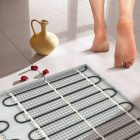 Теплые полы в ванной и на кухне