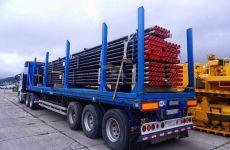 Транспортировка строительных материалов и техники