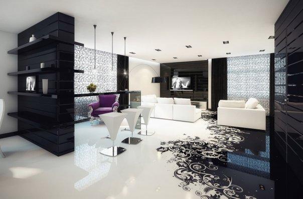 dizajn-doma-v-cherno-beloj-gamme