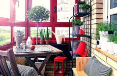 Использование пространства лоджии или балкона