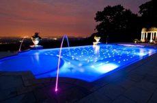Осветительное оборудование для бассейнов
