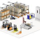 Установка складских помещений для строительства