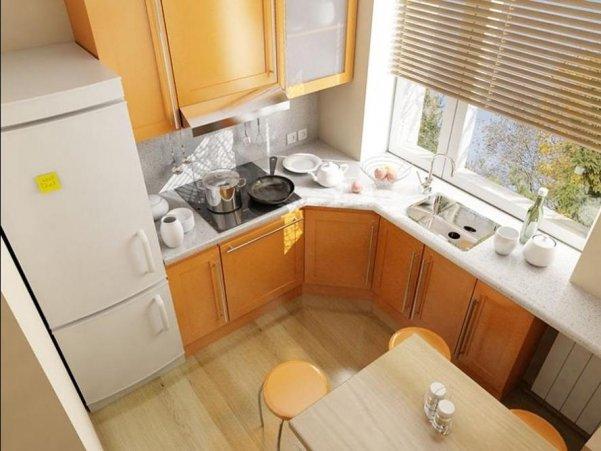 Фото ремонта кухни 6 кв.м фото