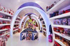 Интерьер магазина для детей