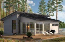 Дачный финский домик