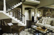 Современный американский дизайн для загородного дома