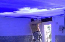 Основные качества, которыми различаются натяжные потолки
