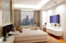 ЖК телевизор в спальне