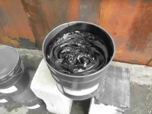 Приготовление битумных мастик