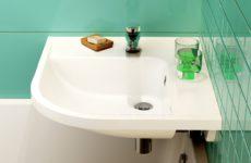 Раковина в ванную комнату маленького размера