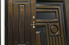 Конструкция металлической двери Гардиан